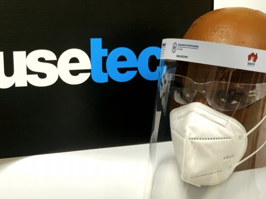 Fusetec - Face Shield - Protection for the frontline Image